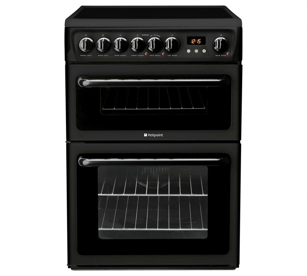 Hotpoint HAE60KS Double Electric Cooker