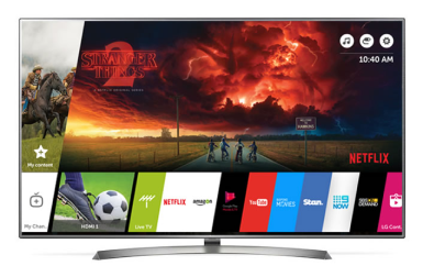 Televisions from £6 p/w