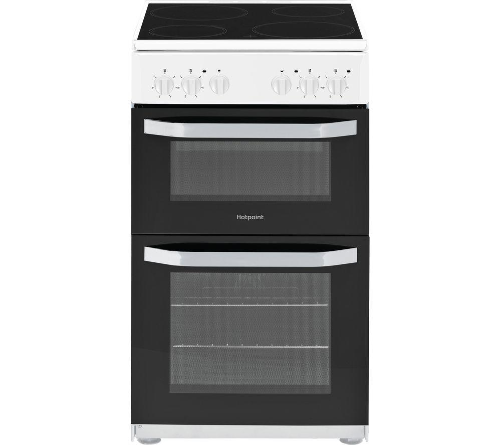 Hotpoint electric cooker with ceramic hob